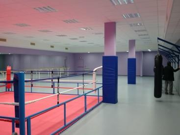 Salle de boxe