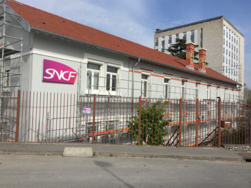 Bâtiment SNCF technigare